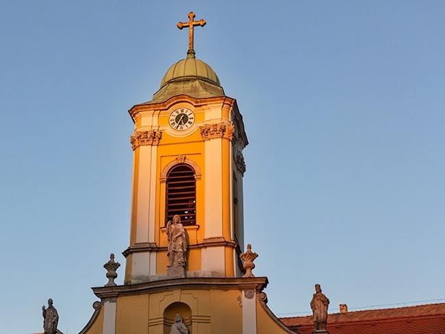 The Chapel of Saint or Roch Szent Rókus-kápolna