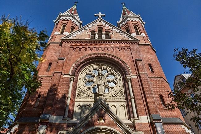 The Sacred Heart Church or Jézus Szíve templom