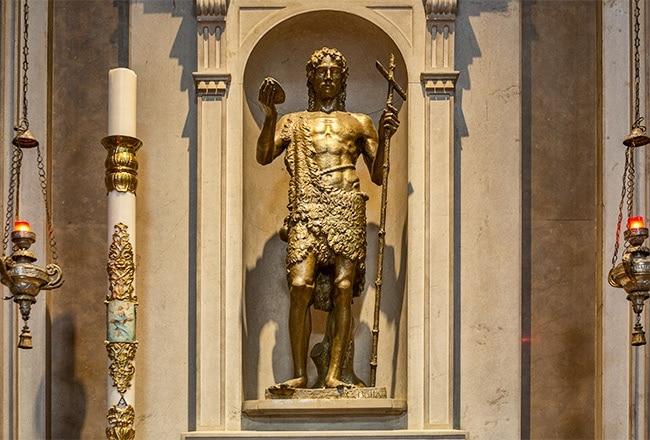 Statue of Karolus Dominicus Ferrarius