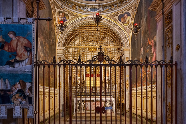 Cappella delle Sante Croci or the Chapel of the Holy Crosses