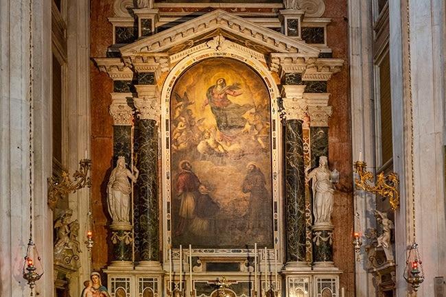 The Altar of Nicola da Tolentino