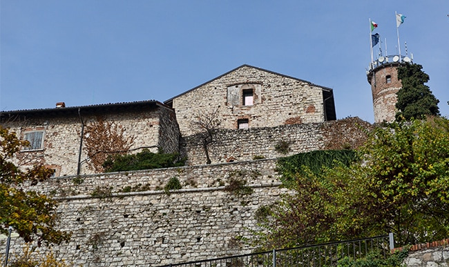 Part of the Castello