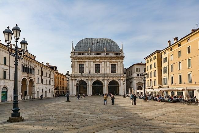 The Piazza della Loggia