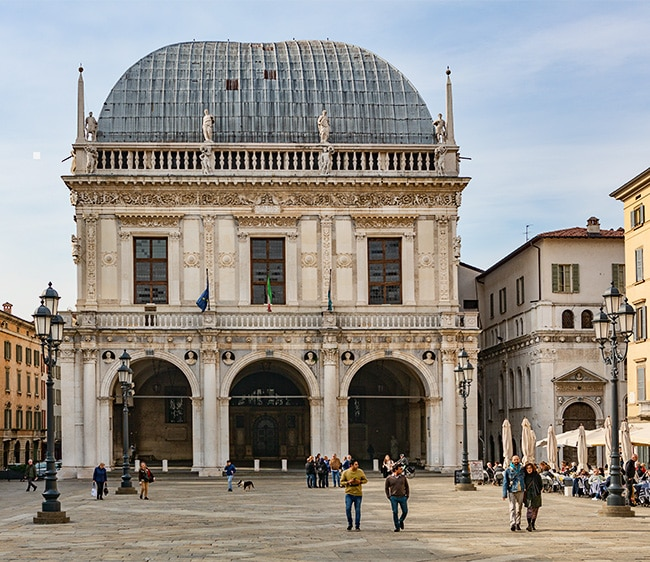 The Palazzo della Loggia