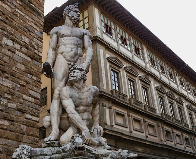 Baccio Bandinelli's Hercules from 1533