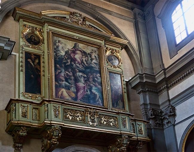 Giorgio Vasari, Assumption and saints