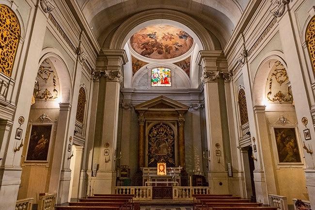 Chiesa di Santa Margherita in Santa Maria de' Ricci
