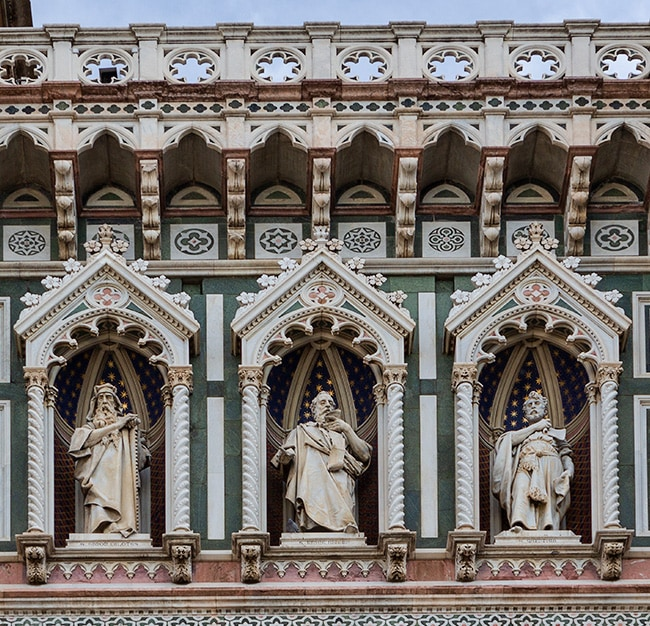So many details at the Florence Cathedral