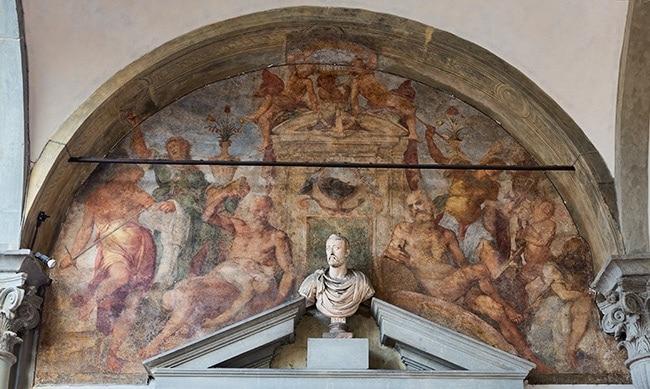 Detail from the Istituto degli Innocenti