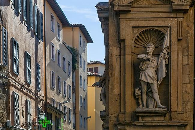 At the Casa dei Cavallereschi