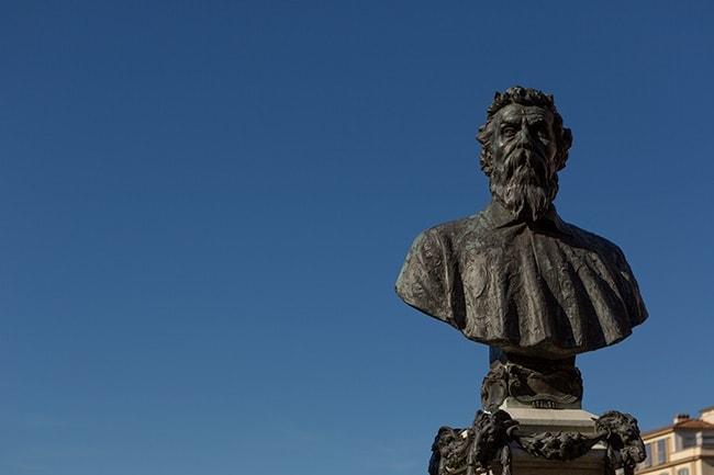 Benvenuto Cellini's bust