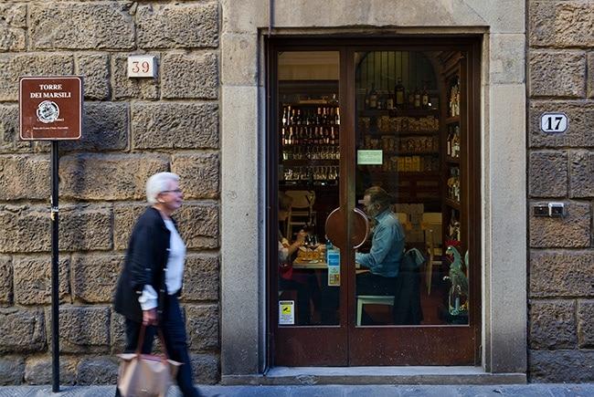 At the Borgo San Iacopo
