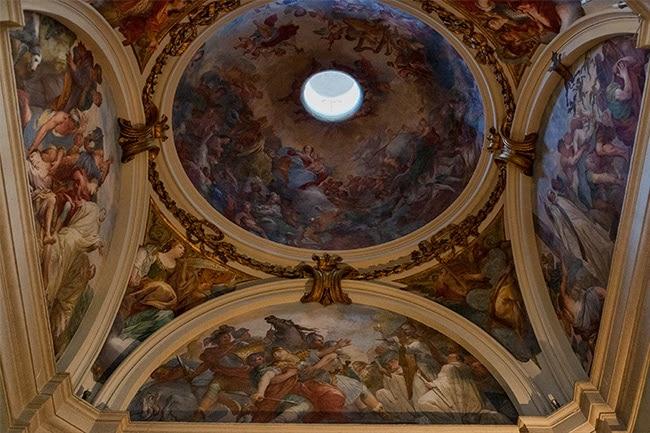 The dome of the Chiesa di San Frediano in Cestello