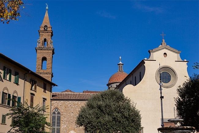 Basilica di Santa Maria del Santo Spirito at the Piazza Santo Spirito