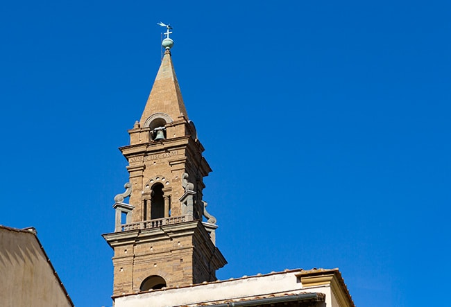 Tower of the Basilica di Santa Maria del Santo Spirito