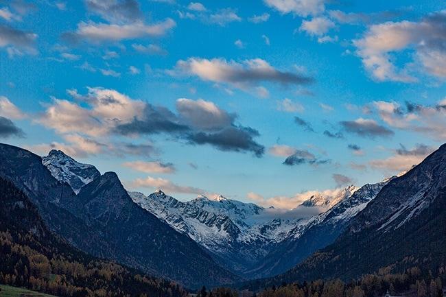 Snow mountains - The Alps!