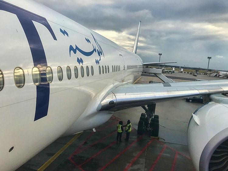 Kuwait Boing 777-300ER to Kuwait
