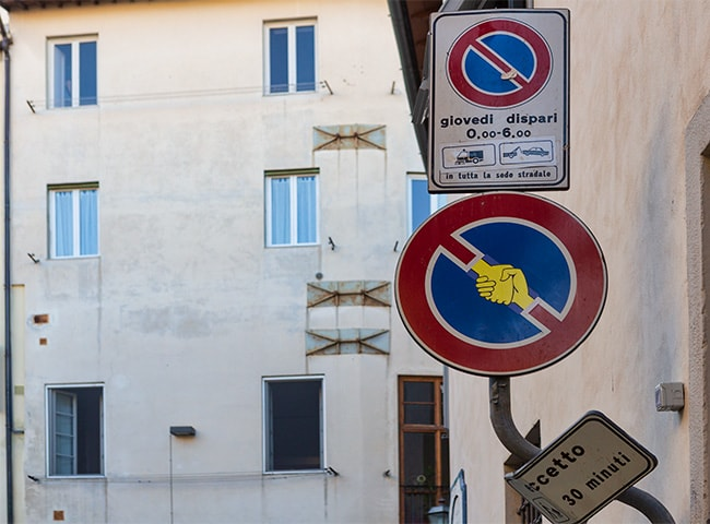 No Parking Hello