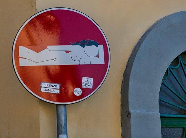 No Entry Sexy Girl