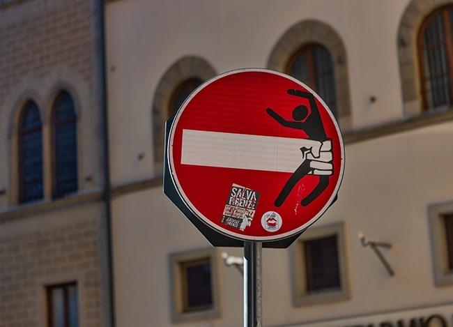 No Entry Gotcha