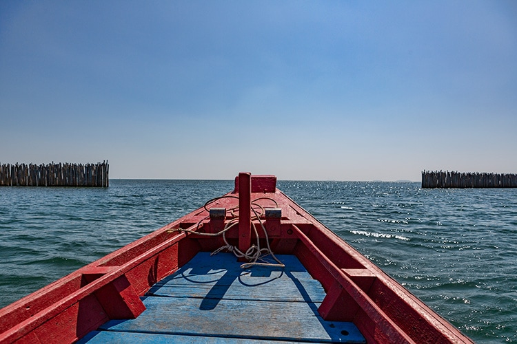 Open water ahead