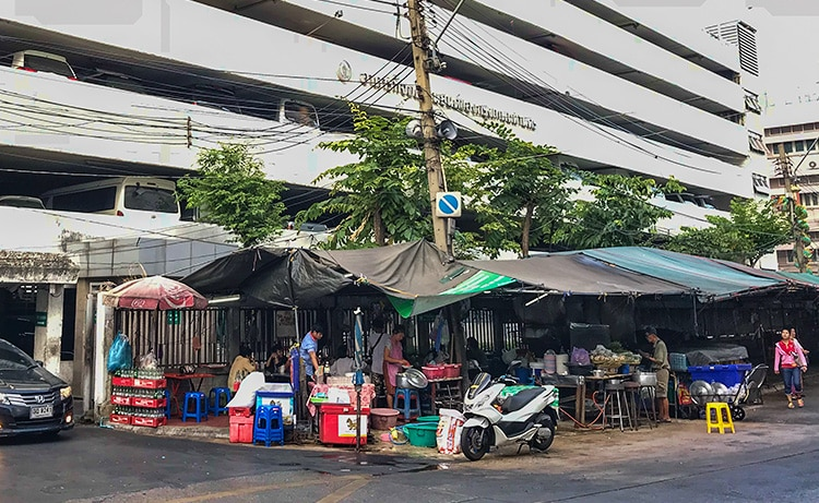 At last these guys are still here. For more than 40 years and still the best Tom Yum Goong in Bangkok