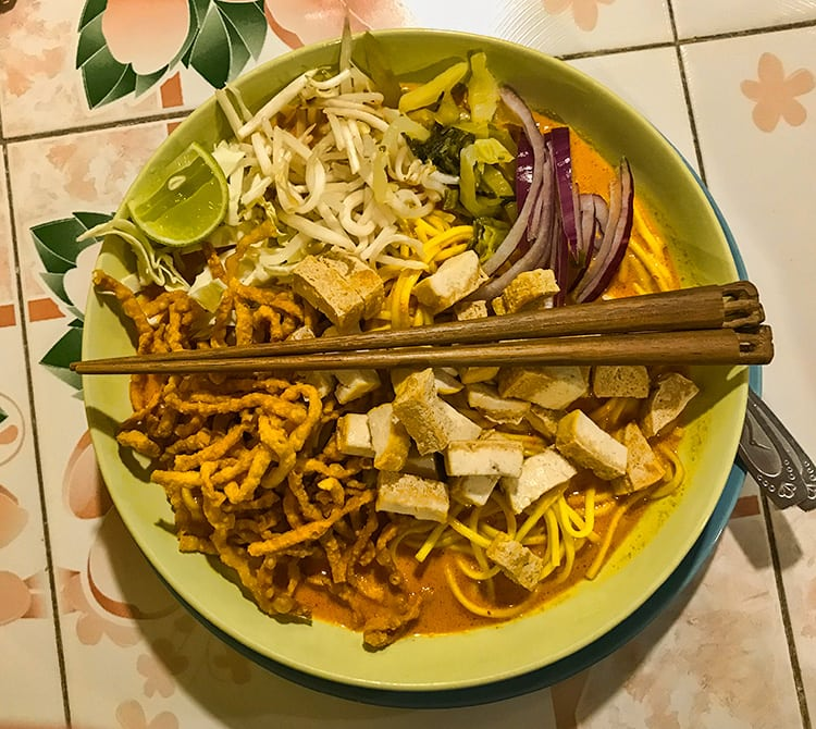 Monster Khao Soi Tofu