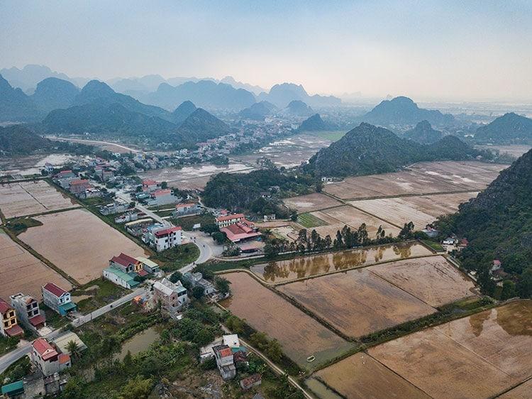 Outside of Ninh Binh