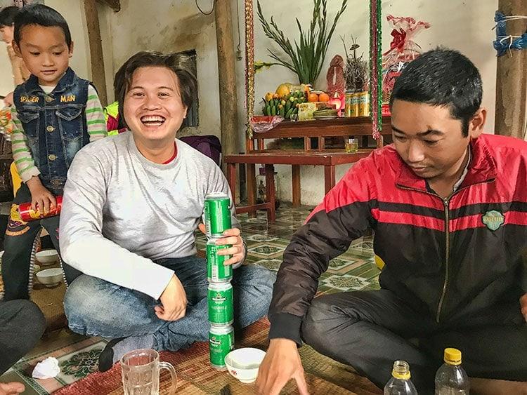 A very happy Viet!