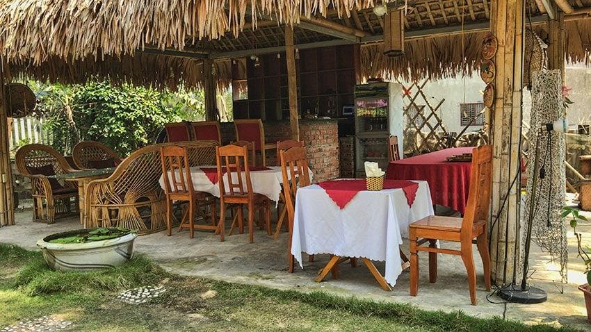 Restaurant at Ocean View Homestay