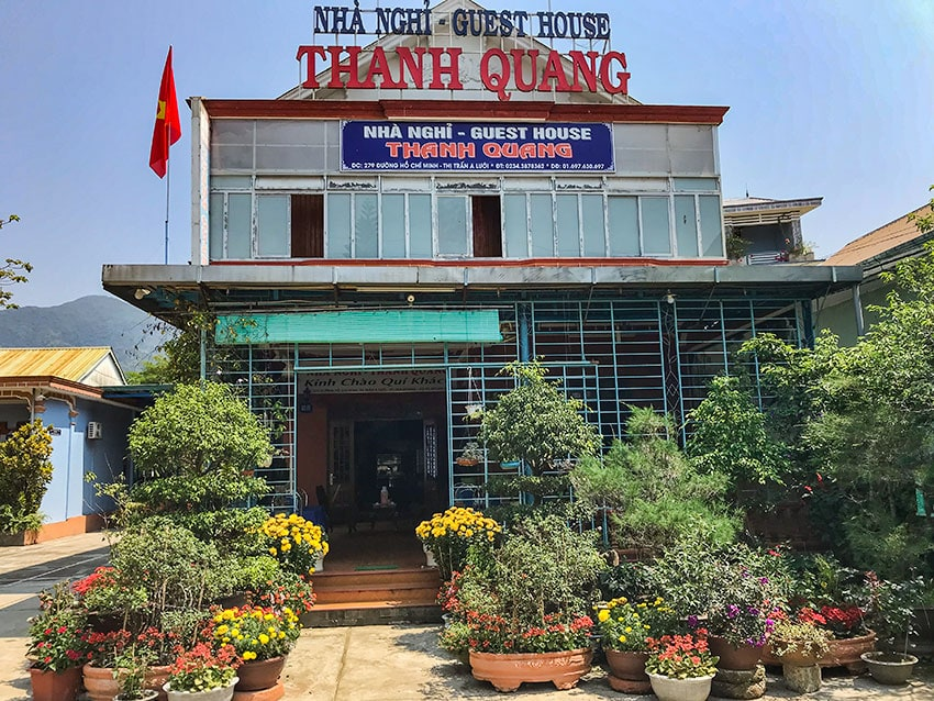 The Thanh Quang Guesthouse in A Loui