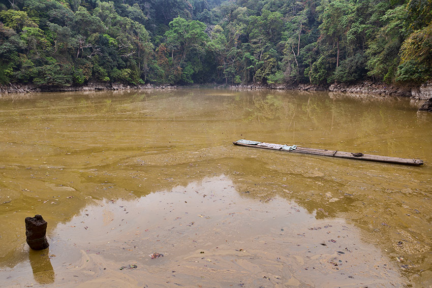 The famous Fairy Lake or Ao Tiên