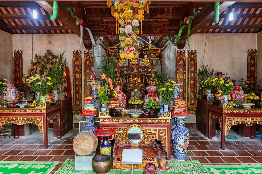 The Đền An Mạ Temple