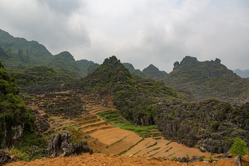 Limestone fields of the Karst Plateau
