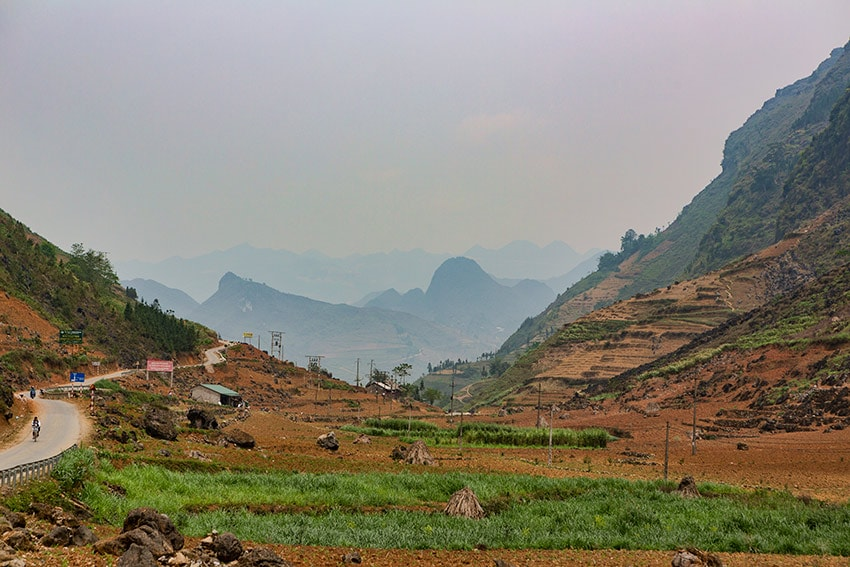 Agriculture and mountains