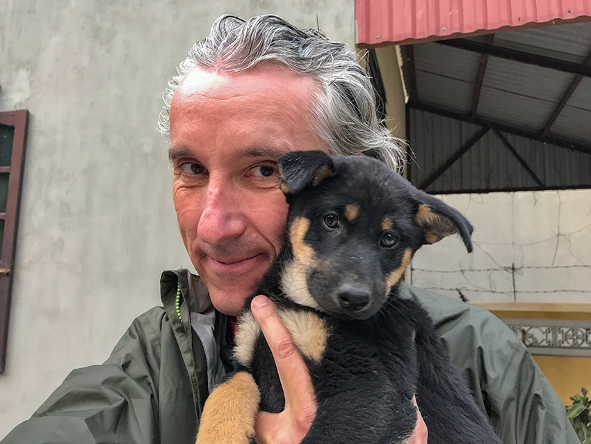 New dog in da house