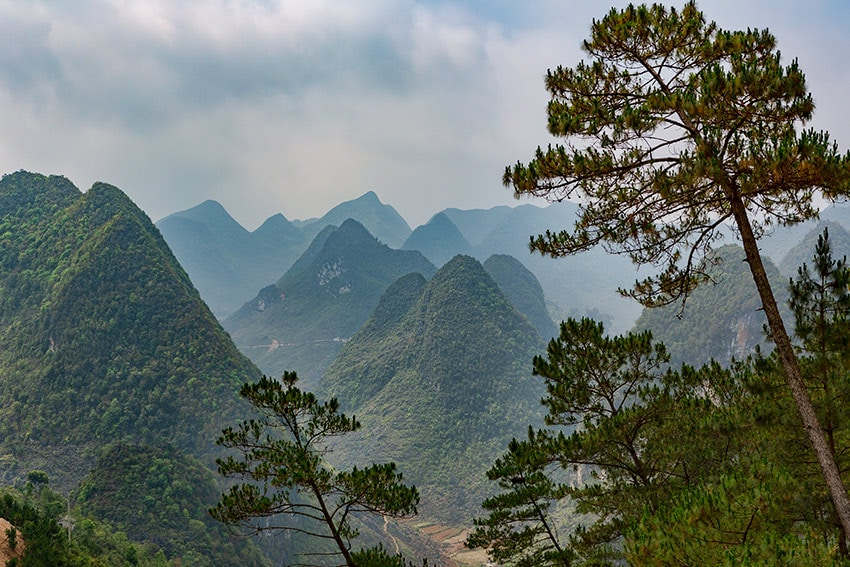 Vietnamese Mountains