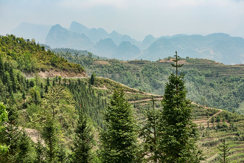 Mountain in North Vietnam