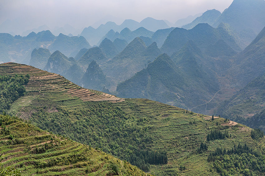 Mountains in North Vietnam