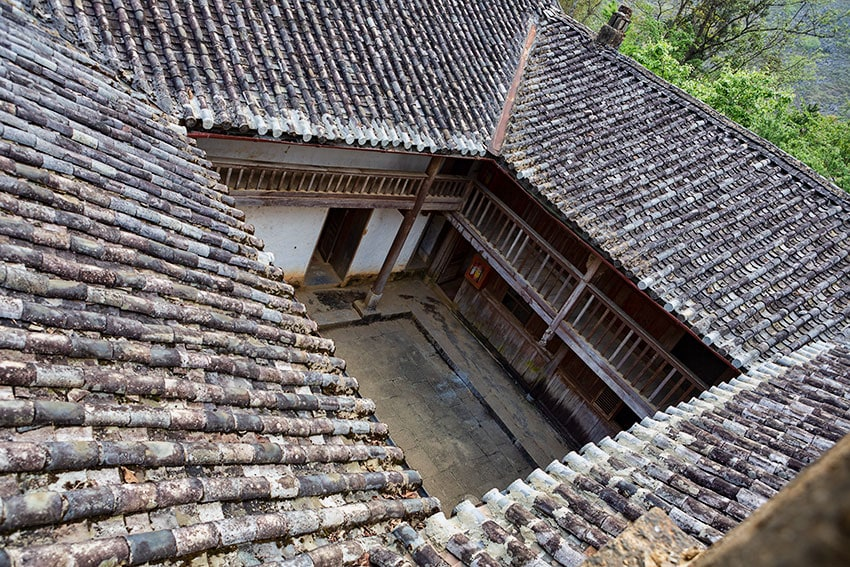 The roof from above