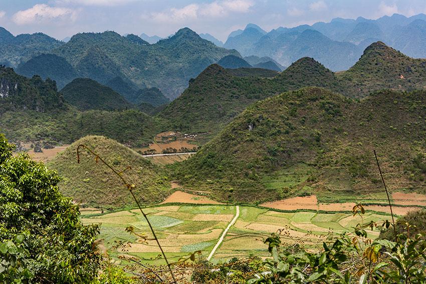 Northern Vietnam Hills