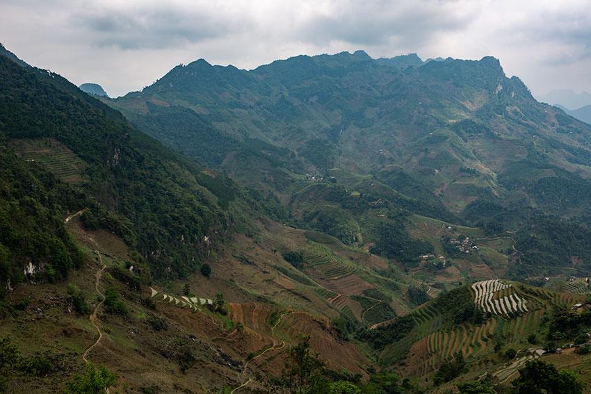 Mountains in North Vietnam