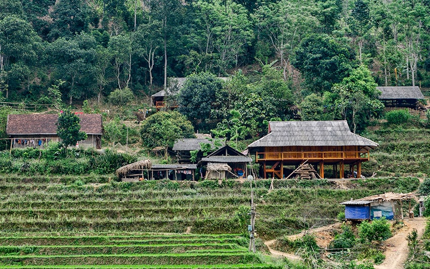 Small Mountain Village