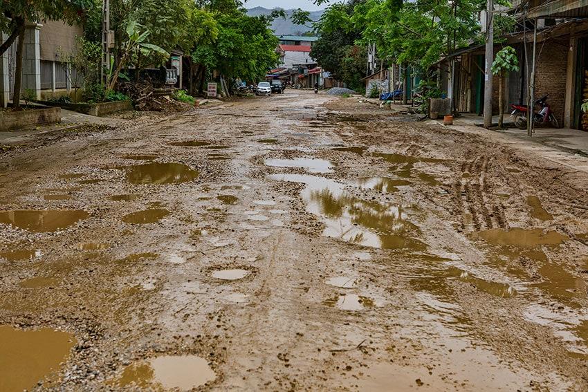 Pothole Galore