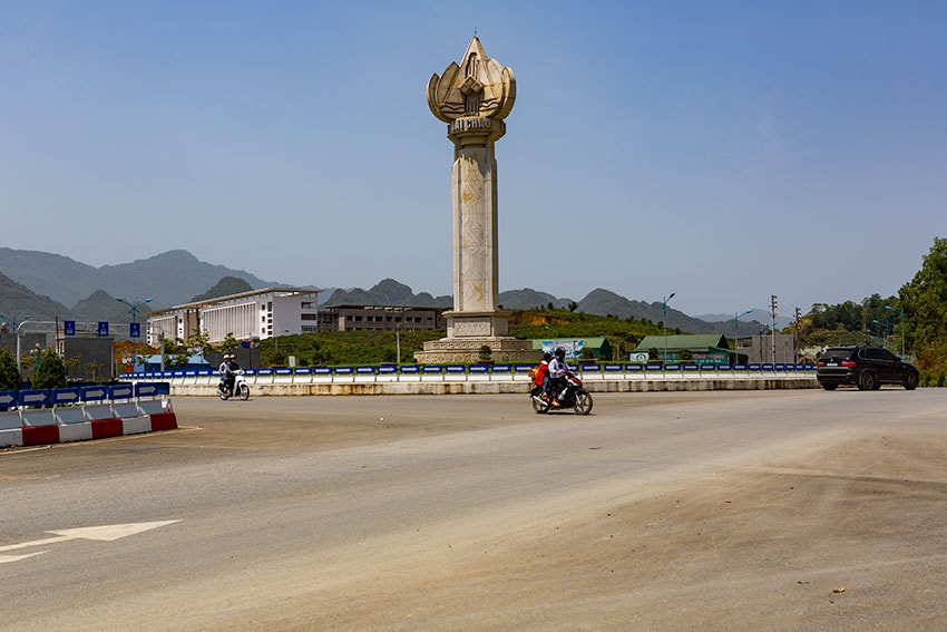 Monument in Lai Châu