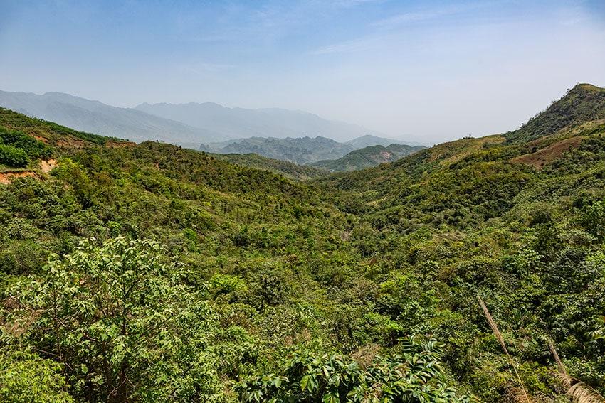 Hills in Northern Vietnam