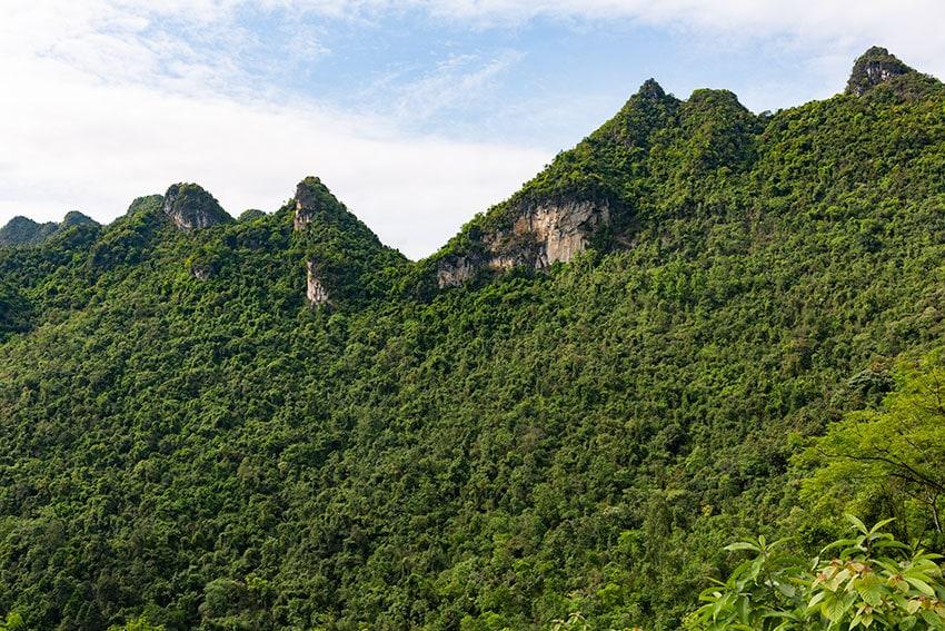 Green Karst Mountain