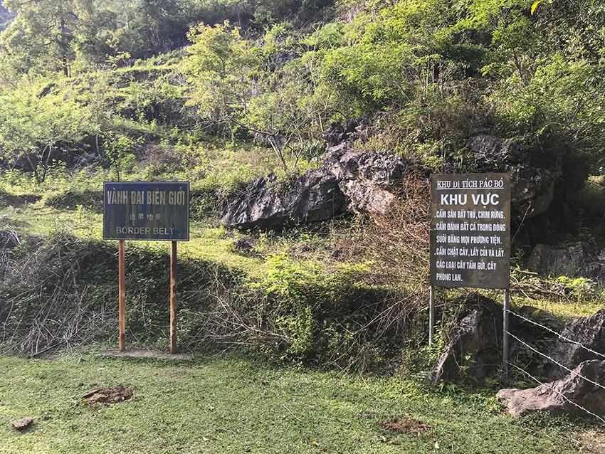 Pac Bo Relic Area