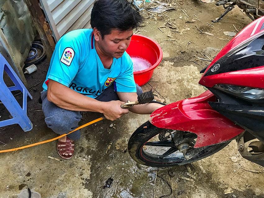 Tire Repair Shop