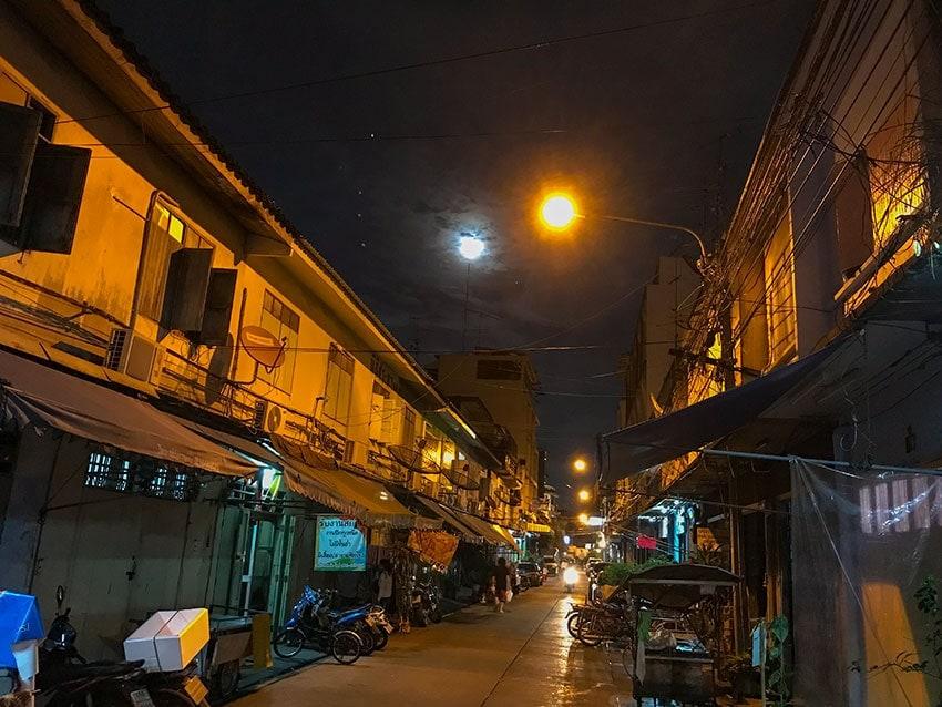 Moon over Bangkok